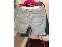 "Size 32"" mens shorts BUNDLE 7 x pairs"
