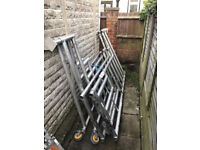 4x Podium steps 1.7m mint condition - can sell separetly as well