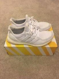 Adidas ultra boost triple white size uk11