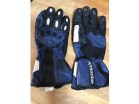Ladies Alpine Stars motorcycle gloves