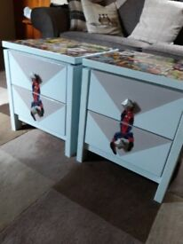 up cycled childs units.
