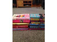 14 Children's books. Jacqueline Wilson-Cathy Cassidy-Cathy Hopkins.