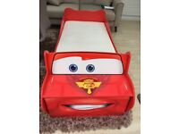 Lightning Mcqueen Toddlers Car Bed