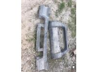 Land Rover discovery 1 bullnose front to attach to bumper