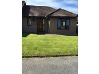 To Rent, 1 bedroom unfurnished, semi-detached bungalow, Bishopmill, Elgin