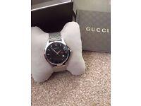 Gucci YA126308 G-Timeless Quartz Slim Gents Watch (100% original and brand new)