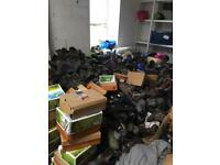 Massive job lot camping walking boots clearance wholesale lot