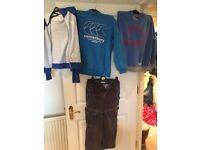 Boys hoodies and trousers - bundle of clothes