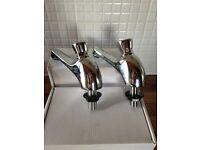 Non-Concussive Wash Basin Taps