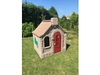 Step 2 Naturally Playful Storybook cottage in good order ,this will entertain children for hours.