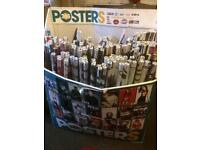 150+ posters great for resale (not all match front advertisement)