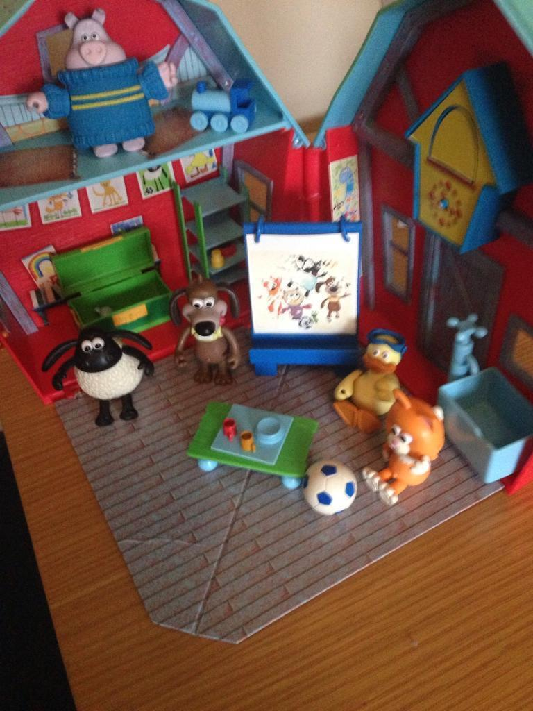 CBeebies Timmy Time School playset