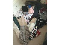 Big ikea bag full of ladies clothes size 14