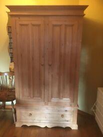 Nursery wardrobe,solid wood