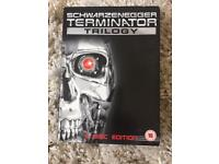 Terminator trilogy box set in perfect condition.