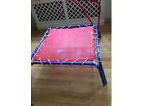 High quality kids trampoline (indoor trampoline) weight limit 35 kg