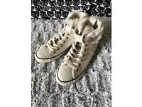Converse Leather Shoes - Size UK 7