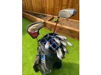 Golf Clubs Set - Callaway Big Bertha Irons, Ping Driver and Odyssey Putter