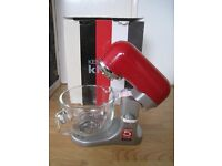 *NEW* Kenwood kMix kmx5 Kitchen Machine in Raspberry with extra silicone creaming beater
