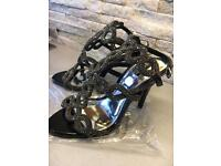 Next heel sandals like new RRP £65 size 3 1/2