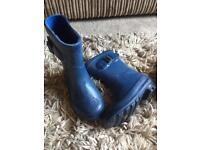 Boys wellies size 6