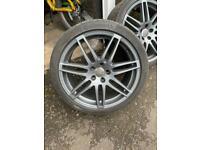 Genuine Audi TT alloy wheels 5x112