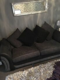 3 seater couch/ sofa bed and chair