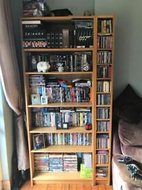 Bookcase and CD unit