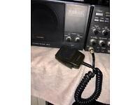 Yaesu FT1000 200 watts version and matching sp5 speaker.