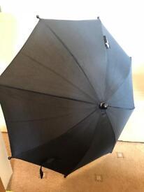 Universal Black Parasol And Sunshade