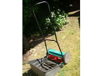 # # BOSCH PUSH ALONG LAWN MOWER WITH LARGE GRASS COLLECTION BOX £20 # #