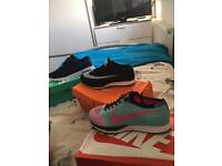 Nike FLYKNIT racers Mens and women's and Nike janoski
