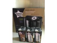 New Black tommee tippee prep machine and 3filters