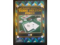 Texas Holdem poker still sealed