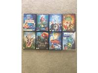 Disney dvds x 8