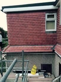 Loft conversion, house extension