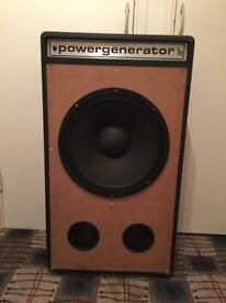 Pair of pa speakers