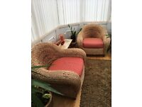Conservatory chairs/ price is for pair