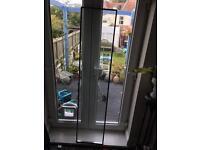 Double glazing glass door panel