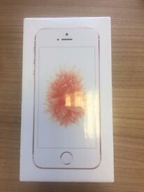 New unopened iPhone SE , Rose Gold, 64 GD