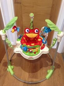 Fisher Price - Rainforest Jumperoo Baby Bouncer