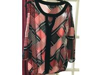 Ladies cold shoulder top from principles