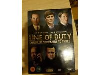 Line of duty series 1-3