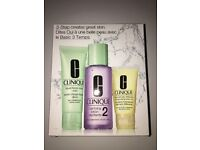 Clinique 3 step gift set brand new