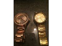 Michael kors watches,£15 each