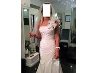 wedding dress- R/Joyce 17017 Savannah Summer new