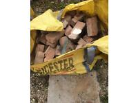 Common bricks,hardcore & soil