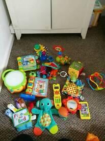 Toy bundle including lamaze