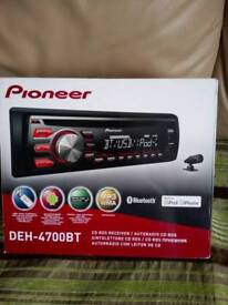 Car radio mp3 Pioneer DEH- 4700