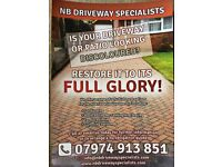 Driveway Cleaning And Refurbishment services